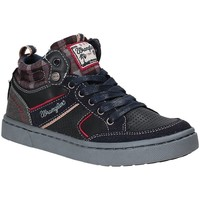 Schuhe Kinder Sneaker High Wrangler WJ17225 Blau