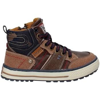 Schuhe Kinder Wanderschuhe Wrangler WJ17216 Braun