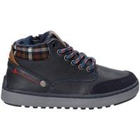 Schuhe Kinder Wanderschuhe Wrangler WJ17219 Blau