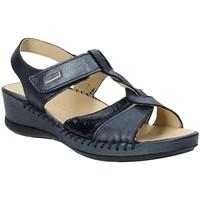 Schuhe Damen Sandalen / Sandaletten Susimoda 2379-03 Blau