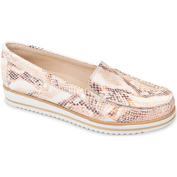 Schuhe Damen Slipper Valleverde 11108 Orange