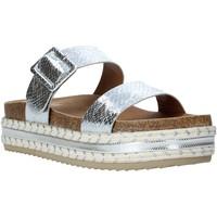 Schuhe Damen Pantoffel Gold&gold A20 GJ340 Silber