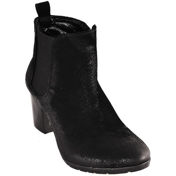 Schuhe Damen Low Boots Mally 5500 Schwarz