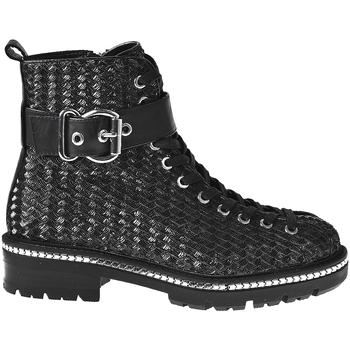Schuhe Damen Low Boots Elvio Zanon I6508N Schwarz