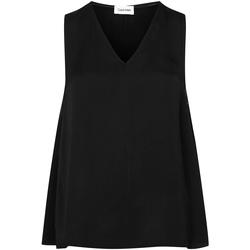 Kleidung Damen Tops / Blusen Calvin Klein Jeans K20K201807 Schwarz