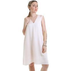 Kleidung Damen Kurze Kleider Calvin Klein Jeans K20K202022 Beige