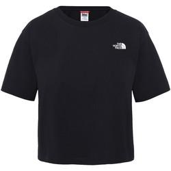 Kleidung Damen T-Shirts The North Face NF0A4SYCJK31 Schwarz