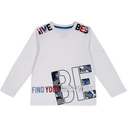 Kleidung Kinder Langarmshirts Chicco 09006867000000 Weiß