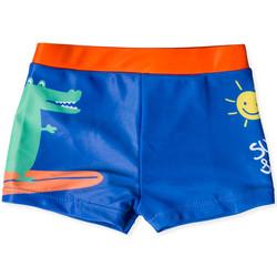 Kleidung Kinder Badeanzug /Badeshorts Losan 017-4003AL Blau