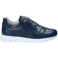 Schuhe Herren Sneaker Low Exton 332 Blau