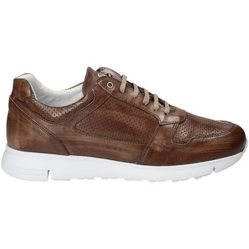 Schuhe Herren Sneaker Low Exton 332 Braun