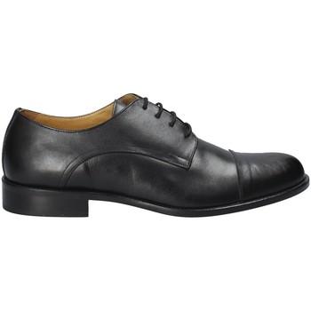Schuhe Herren Richelieu Exton 6013 Schwarz