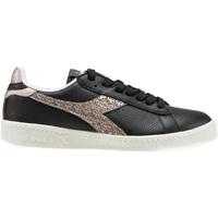 Schuhe Damen Sneaker Low Diadora 501.173.994 Schwarz