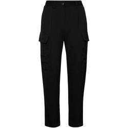 Kleidung Damen Cargo Hosen Calvin Klein Jeans K20K201768 Schwarz