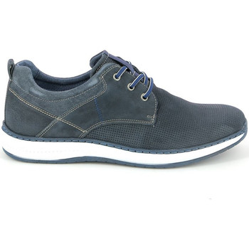 Schuhe Herren Sneaker Low Grunland SC3806 Blau