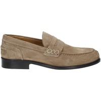 Schuhe Herren Slipper Rogers 652 Beige