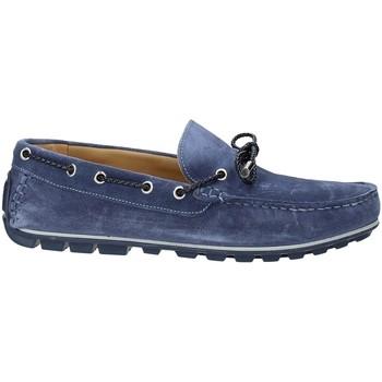 Schuhe Herren Slipper Rogers 700 Blau