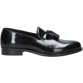 Schuhe Herren Slipper Rogers 603 Schwarz