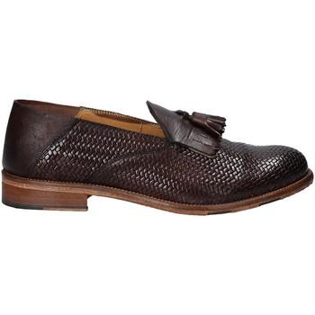 Schuhe Herren Slipper Exton 3105 Braun