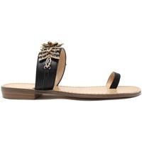 Schuhe Damen Zehensandalen Gold&gold A19 GL303 Schwarz