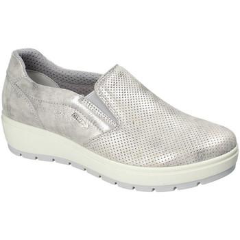 Schuhe Damen Slip on Enval 3268011 Silber