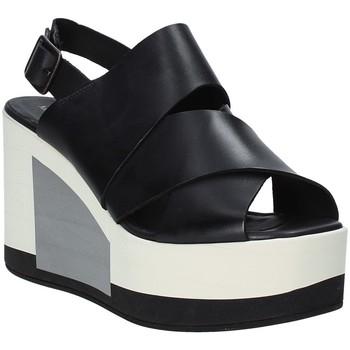 Schuhe Damen Sandalen / Sandaletten Marco Ferretti 660298MF Schwarz