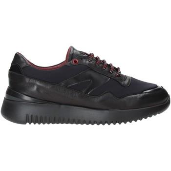 Schuhe Herren Sneaker Low Exton 335 Schwarz