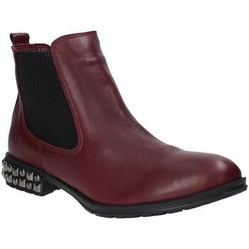 Schuhe Damen Low Boots Bueno Shoes 9M3402 Rot