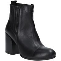 Schuhe Damen Low Boots Bueno Shoes 9P4801 Schwarz