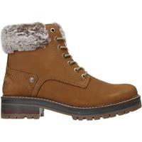 Schuhe Damen Low Boots Wrangler WL92524A Braun