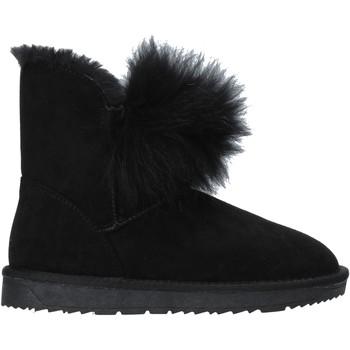 Schuhe Damen Low Boots Gold&gold B19 GJ217 Schwarz