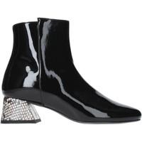 Schuhe Damen Low Boots Pregunta PAA34-VP Schwarz