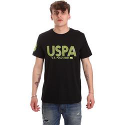 Kleidung Herren T-Shirts U.S Polo Assn. 57197 49351 Schwarz