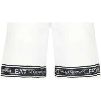 Kleidung Herren Badeanzug /Badeshorts Ea7 Emporio Armani 3HPS56 PJ05Z Weiß