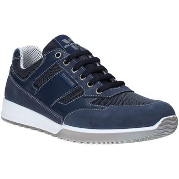 Schuhe Herren Sneaker Low Valleverde 53861 Blau
