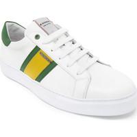 Schuhe Herren Sneaker Low Exton 861 Weiß