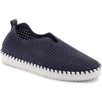 Schuhe Damen Slip on Grunland SC4910 Blau
