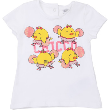 Kleidung Kinder T-Shirts Chicco 09006955000000 Weiß