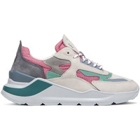 Schuhe Damen Sneaker Low Date W321-FG-NK-PK Rosa