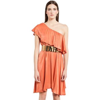 Kleidung Damen Kurze Kleider Denny Rose 011ND15020 Orange