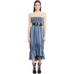 Kleidung Damen Maxikleider Denny Rose 011ND16002 Blau