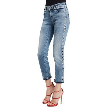 Kleidung Damen Slim Fit Jeans Denny Rose 011ND26009 Blau