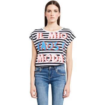 Kleidung Damen T-Shirts Denny Rose 011ND64017 Weiß