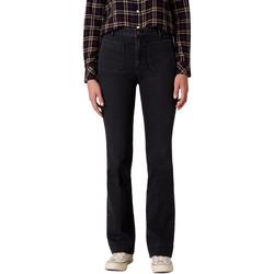 Kleidung Damen Bootcut Jeans Wrangler W233JK45A Schwarz