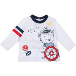 Kleidung Kinder Langarmshirts Chicco 09006877000000 Weiß