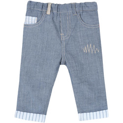 Kleidung Kinder 5-Pocket-Hosen Chicco 09008117000000 Blau
