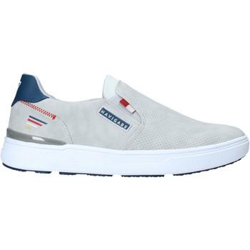 Schuhe Herren Slip on Navigare NAM018312 Grau