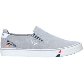Schuhe Herren Slip on Navigare NAM010006 Grau