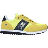 Schuhe Herren Sneaker Low Navigare NAM013550 Gelb