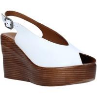 Schuhe Damen Sandalen / Sandaletten Bueno Shoes Q6100 Weiß